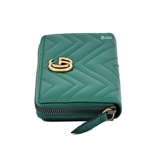Gucci Bags - Gucci GG Marmont Leather Zip-Around Wallet